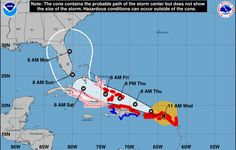 Hurricane Irma — a powerful Category 5 storm that has already torn through a string of Caribbean islands — is heading toward Florida.