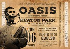 Impresión original de Oasis: Viven en Heaton Park, Manchester 2009. Se trata de un original diseño inspirado en las clásicas actuaciones de artistas legendarios. Este llamativo cartel estilo vintage grabado sería un gran regalo para cualquier fan de Oasis. Celebra el desempeño 2009 legendarios cantantes en Heaton Park, en Manchester. Uno de sus conciertos finales. ESTAS IMPRESIONES PUEDEN SER PERSONALIZADAS A OTRA FECHA, ÉNTREME EN CONTACTO CON PARA MÁS DETALLES. Todas nuestras impresione...