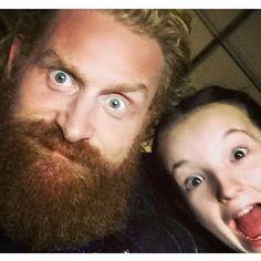 Tormund and Lyanna selfie, Game of Thrones.
