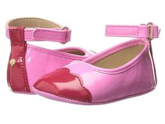Kate Spade New York Kids Cap-Toe Ballet Slipper (Infant/Toddler)