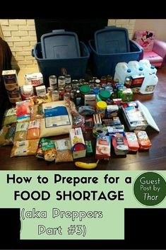How to Prepare Yourself for a Food Shortage (aka Prepping Part - Raising Fairies and Knights The Best Ideas also for