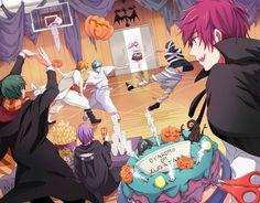 Kuroko no Basket generation of miracles Happy Halloween