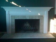 pictures of remodeled fireplaced | fireplace remodel fireplace before