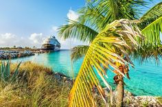 Castaway Cay is Disney Cruise Line's private island in the Bahamas, and is a common port of call for virtually all Disney Caribbean-bound cruise ships. Thi