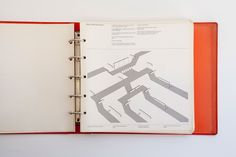 New York City Transit Authority Graphics Standards Manual / oh my god, what an incredible artifact of graphic and signage design history.