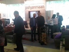 International Mebel Furniture Fair @ Moscow 11/2015. Fleimio Trolley with the Pohjanmaan.