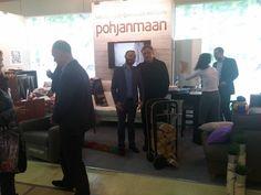 International Mebel Furniture Fair @ Moscow 11/2015. Fleimio Trolley with the Pohjanmaan.