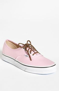 Baby pink Vans :) I don't usually like vans but these are adorable!