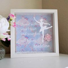 Personalized gift, Gift for girl, Gift for daughter, Personalised Ballerina gift, Dancer Gift, Girls Birthday gift, Ballet dancer, Gift idea