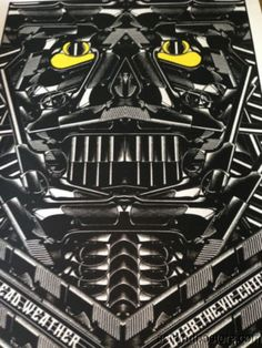 The Dead Weather 07/28/2009 Rob Jones poster print Chicago Vic night 1 S/N