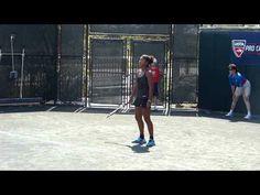 Naomi Osaka v Olga Ianchuk 2013 Audi Melbourne Pro Tennis Classic April 28 - http://osaka-mega.com/naomi-osaka-v-olga-ianchuk-2013-audi-melbourne-pro-tennis-classic-april-28/