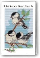 Chickadee Bead Graph : Beading Patterns and kits by Dragon!, The art of beading.