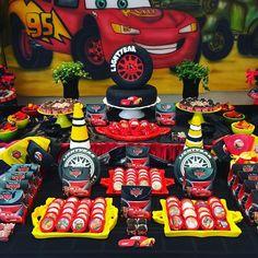 Hot Wheels Birthday, Hot Wheels Party, Race Car Birthday, Monster Truck Birthday, Superhero Birthday Party, Carnival Birthday Parties, Birthday Party Themes, Baby Girl Shower Themes, Ideas Decoración