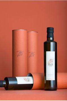 La Bottega Beer and Olive Oil — The Dieline - Branding & Packaging Corporate Design #corporatedesign
