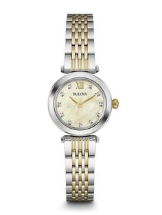 Now available on our store: Bulova Women's Wa... Check it out here! http://shirindiamond.net/products/bulova-womens-watches-98p154-retail-243-75?utm_campaign=social_autopilot&utm_source=pin&utm_medium=pin