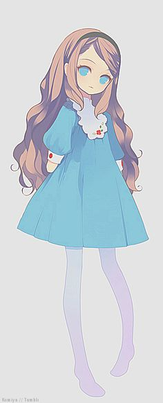 simple cute dress anime - Google Search