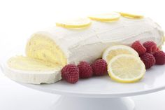 Low Carb Lemon Cake Roll