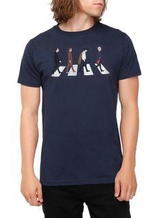 Doctor Who Crosswalk T-Shirt   Hot Topic