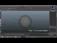 (4) How to Modelling a soccer Ball in Maya | Maya tutorial - YouTube