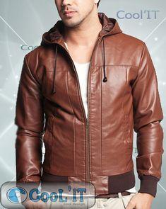 C001 Rp 1, Leather Jacket, Jackets, Fashion, Studded Leather Jacket, Down Jackets, Moda, Leather Jackets, Fashion Styles