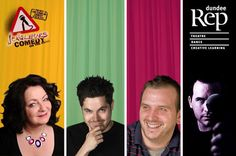 Jongleurs Comedy Club LIVE at Dundee Rep on 11th October featuring Janey Godley, Chris Henry, Bruce Devlin and John Gavin!