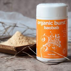 "Organic Burst® Baobab Powder - Known as the ""Tree of Life"" baobab is cherished across Africa. Baobab powder dries naturally inside the fruit pods. Our baobab powder is raw, pure and comes from the sustainable organic reserves. We work with Phyto Trad Baobab Powder, Wheatgrass Powder, Natural Electrolytes, Organic Superfoods, Acai Berry, Wheat Grass, Smoothies, Alcohol, Make It Yourself"