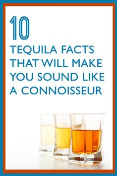 10 #Tequila Facts That Will Make You Look Like A #Connoisseur