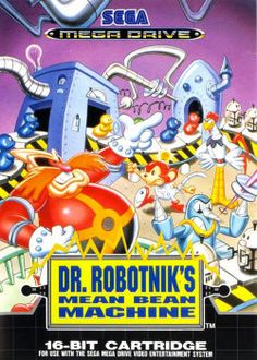 Dr. Robotnik's Mean Bean Machine - Sega Megadrive / Genesis