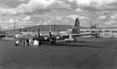 https://flic.kr/p/ah5uMT   Boeing WB-50D   Boeing WB-50D (S/N 48-115) at Ladd Air Force Base in May 1957. Originally B-50D-105-BO. (U.S. Air Force photo)