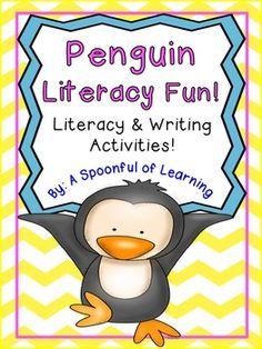 Penguin Literacy & Writing Fun!
