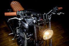 2009 Triumph Bonneville Lizard King by Maccomotors - Car Substance Street Tracker, Triumph Motorcycles, Custom Motorcycles, Triumph T100 Bonneville, Moto Fest, Cb 750 Cafe Racer, Triumph Scrambler, Bike Shed, Hot Bikes