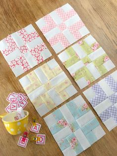 Here we are . . . it's December and we are sewing our final block in the2017 Patchwork Quilt AlongwithFat Quarter Shop. The December block is called Mother's Own. What a sweet, nostalgic name.