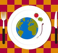 Dining Manners Around the World (via Parents.com) - Junior Girl Scout Badge - Social Butterfly Badge