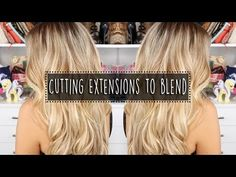 5 MUST KNOW hair extensions tricks for FINE and THIN hair   Milk + Blush - YouTube