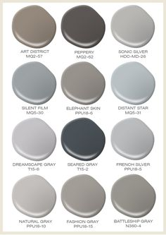 Gray can be anything but boring. Take a look at our favorite color  combinations featuring  Behr Paint ...