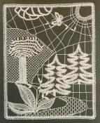 bobbin lace pattern by Ilske Thomsen