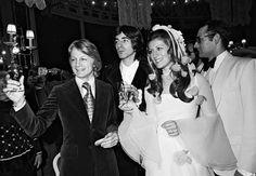 Claude François assiste au mariage de Sheila et Ringo en 1973