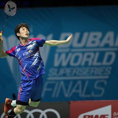 Son Wan Ho badminton player from Korea