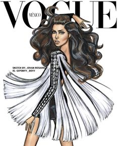 Adriana Lima for Vogue Mexico by @ponyy_boyy| Be Inspirational ❥|Mz. Manerz: Being well dressed is a beautiful form of confidence, happiness & politeness