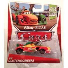 Disney Pixar Cars WGP (World Grand Prix) Rip Clutchgoneski Scale Disney Cars Toys, Play Vehicles, Grand Prix, Diecast, Movie Cars, Racing, Scale, Kids, Packaging