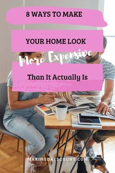 It is so much fun when we can make our homes look more expensive with DIY projects on a budget. Here are 7 ideas that you must check out today! #budgethome #diyhome Diy Projects On A Budget, Diy On A Budget, Decorating On A Budget, Easy Diy Projects, Home Projects, Spring Home Decor, Autumn Home, Project Yourself, Make It Yourself