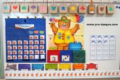 Calendar Routine in Preschool