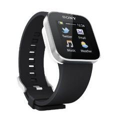 Sony SmartWatch Handy-Uhr für Smartphone (Bluetooth 3.0, Android 2.1) schwarz