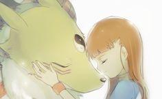 Digimon Tamers : Kyubimon and Rika