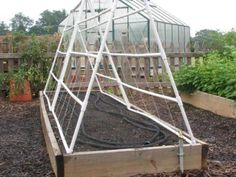 Learn how to build a trellis out of PVC with these instructions from the experts at DIYNetwork.com. The trellis will hold up to weather for years, so you'll be able to reuse it for a long time.