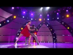 """Top 8 contestant Cyrus Spencer and all-star dancer Melanie Moore perform a Jazz routine to """"Badder Badder Schwing"""" choreographed by Mandy Moore on SO YOU THINK YOU CAN DANCE."""
