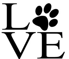 Love your Dog Car Decal by MelissasVinylDesigns on Etsy