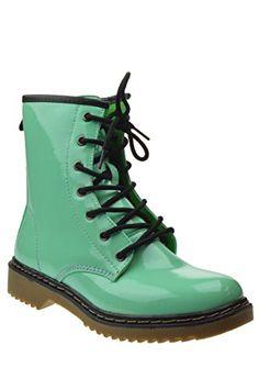 Toby 1 Womens Patent Milatary Lace Up Combat Boots Mint 8.5 Shoe Dezigns http://www.amazon.com/dp/B00SAEQ4QW/ref=cm_sw_r_pi_dp_X7zsvb0KW5XKF