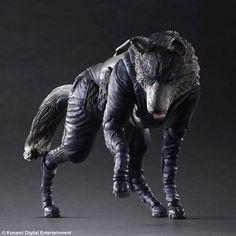 Metal Gear Solid V: D-Dog Play Arts Kai Action Figure (The Phantom Pain) - HobbyStuf