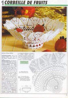 Christmas Archives - Beautiful Crochet Patterns And Knitting Patterns - Diy Crafts Crochet Doily Diagram, Crochet Motifs, Crochet Chart, Crochet Doilies, Vase Crochet, Thread Crochet, Crochet Gifts, Christmas Crochet Patterns, Pineapple Crochet